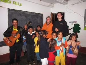 Karina und Fabian 2012/2013 in Chachapoyas/Peru