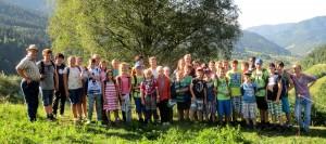 Eine-Welt-Camp 2015 - Teilnehmer und Teamer