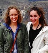 Anna Leupold und Anna Born