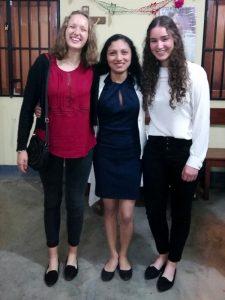 Anna, Fabiola und Anna