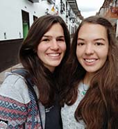 Sophia und Leonie
